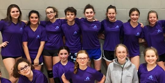 Beginner Volleyball Training